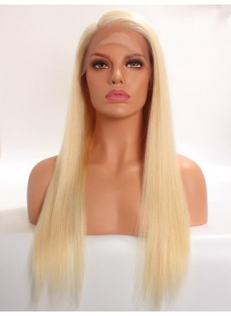 2-3 days  Full lace wig pre plucked hair line baby hair 613 100% human hair 8A + quality straight
