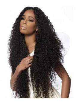 Full lace wig Brazilian virgin hair brazilian curly free part baby hair