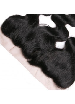 130% Density Free Part Human Hair Natural Hairline  body wave Hair 13x4 Ear to Ear Lace Frontal